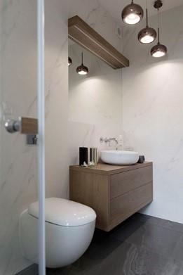 Projekt łazienki. Źródło: Studio Loko