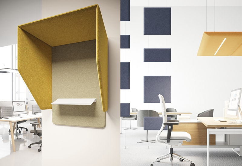 panele akustyczne do biura