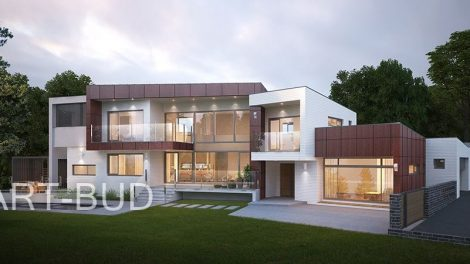 Jak wygląda budowa rezydencji z firmą budowlaną deweloperską?
