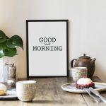 Plakat do kuchni - idealna propozycja na dekorację wnętrz