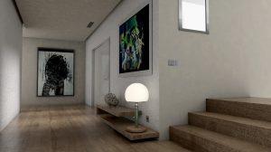 Aranżacja ściany w przedpokoju - nowoczesne formy wykończenia wnętrz