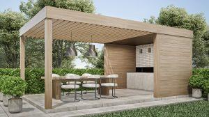 Jak urządzić ogród? Basen i grill w ogrodzie